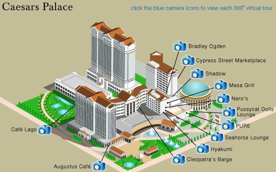 Caesars Palace Casino Map Www Imgkid Com The Image Kid Has It